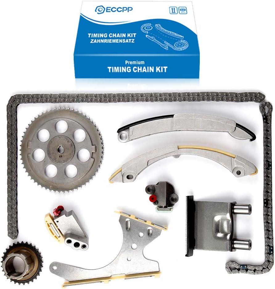ECCPP Timing Chain Kit for 2004 2005 2006 2007 Buick Rainier 2005 2006 2007 Chevrolet Trailblazer 2004 2005 2006 GMC Canyon 2004 2005 Isuzu Ascender
