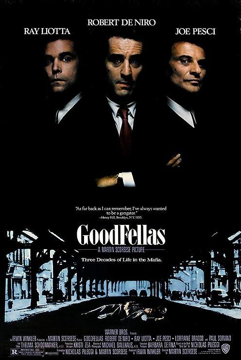 GoodfellasLARGE 24X36 MOVIE POSTER Premium Poster Paper