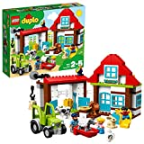 LEGO 10869 DUPLO My Town Farm Aventures Construction Set, Farm Toy with House, Cow, Sheep, Rabbit and Goat, Toy Bricks for Preschool Children