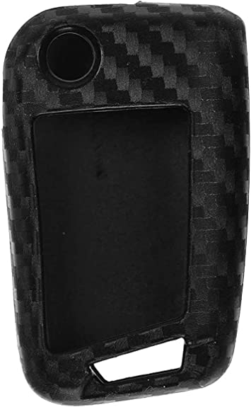 Carbon Soft Case Silikon Schutz Hülle Auto Klapp Elektronik