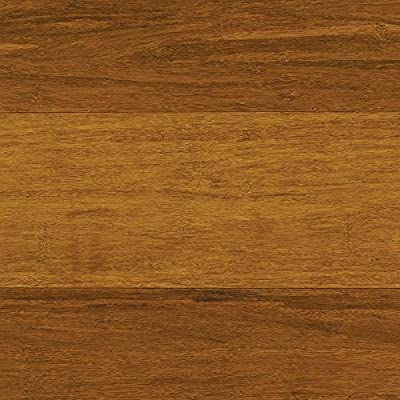 Home Decorators HL271H Strand Woven Harvest 3/8 in. Thick x 4.92 in. Wide x 36.02 in. Length Click Lock Bamboo Flooring
