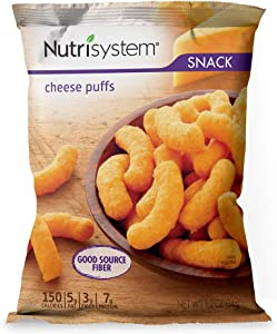 Nutrisystem® Cheese Puffs, 24ct, Guilt-Free Snacks to Support Healthy Weight Loss