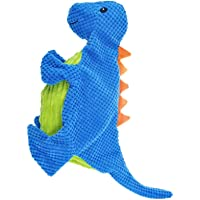 Chomper Dog Toy, Diplodocus Dog Toy - 7 Inch, Assorted Colors
