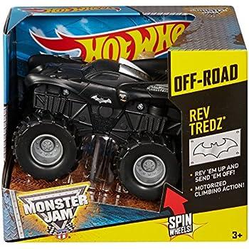 Hot Wheels Monster Jam Rev Tredz Batman Truck