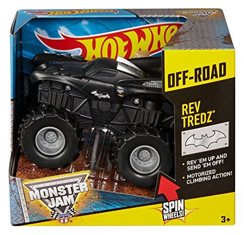 Hot Wheels Monster Jam Rev Tredz Batman Truck