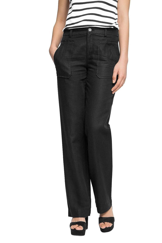 TALLA W32 (Talla del fabricante: 32/LG). edc by Esprit Mit Leinen, Pantalones para Mujer