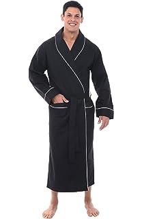 Nautica Men s Long Sleeve Lightweight Cotton Woven Robe at Amazon ... 8c847d90d