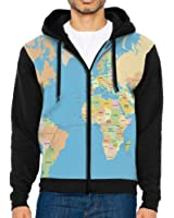 World map typography letters front print zipper hoodies pockets penn tnt world map country name front print zipper hoodies pockets hoodie hooded sweatshirt jacket gumiabroncs Images