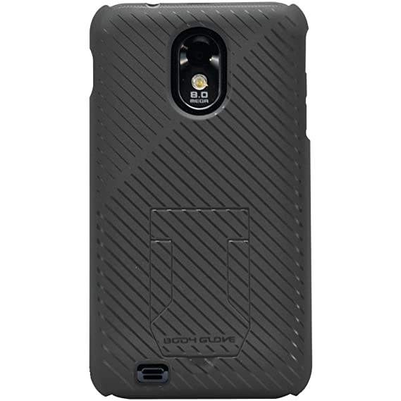 online store 4227b b2511 Body Glove Samsung Galaxy S ll and Epic 4G Touch Fade Cell Phone Case with  Hideaway Stand Black (9241301)