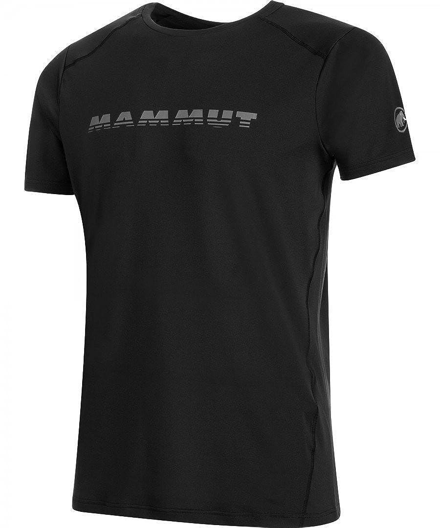 TALLA L. Mammut Splide Logo Camiseta de Senderismo, Hombre