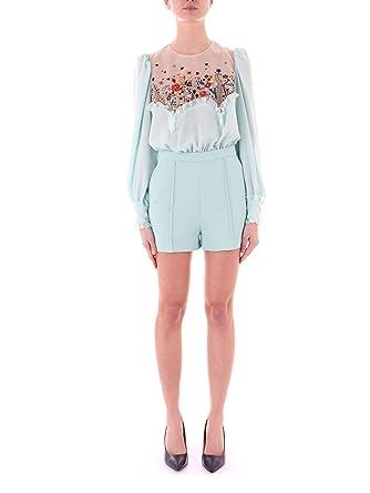 new product 454f8 2184e Elisabetta Franchi Fashion Womens TU13891E2033 Light Blue ...