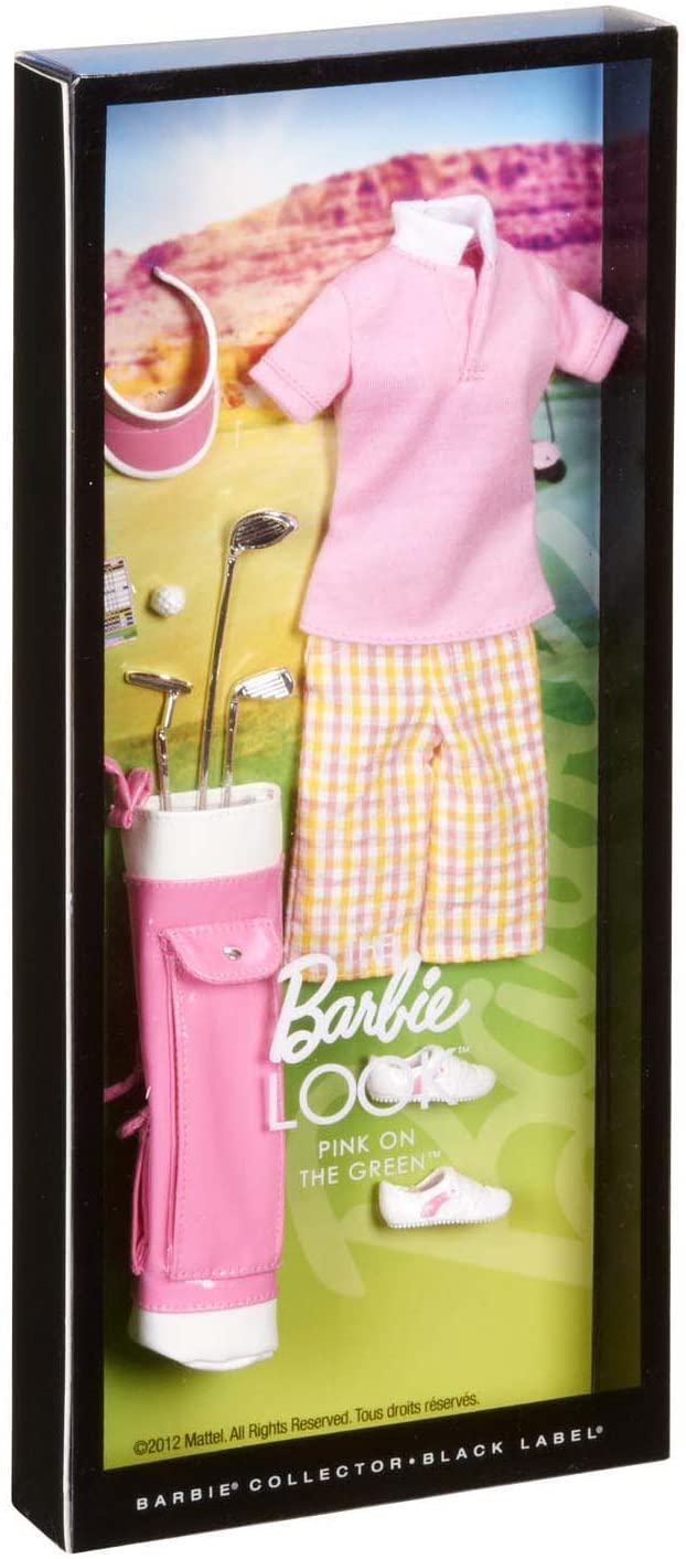Amazon.es: Barbie Collector The Look Collection: Pink on The Green ...