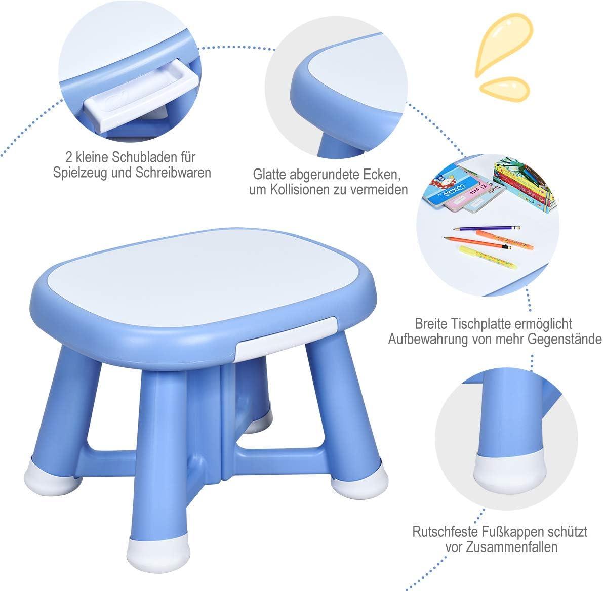 Blau New Classic Toys 10681 Apron-Blue
