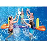 Inflatable Floating Splash Volleyball Game for the Swimming Pool