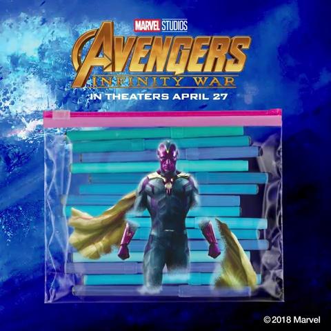 Ziploc Slider Storage Bag, Quart, 30 Count, Pack of 3 (90 Total Bags)- Featuring Marvel Studios' Avengers: Endgame