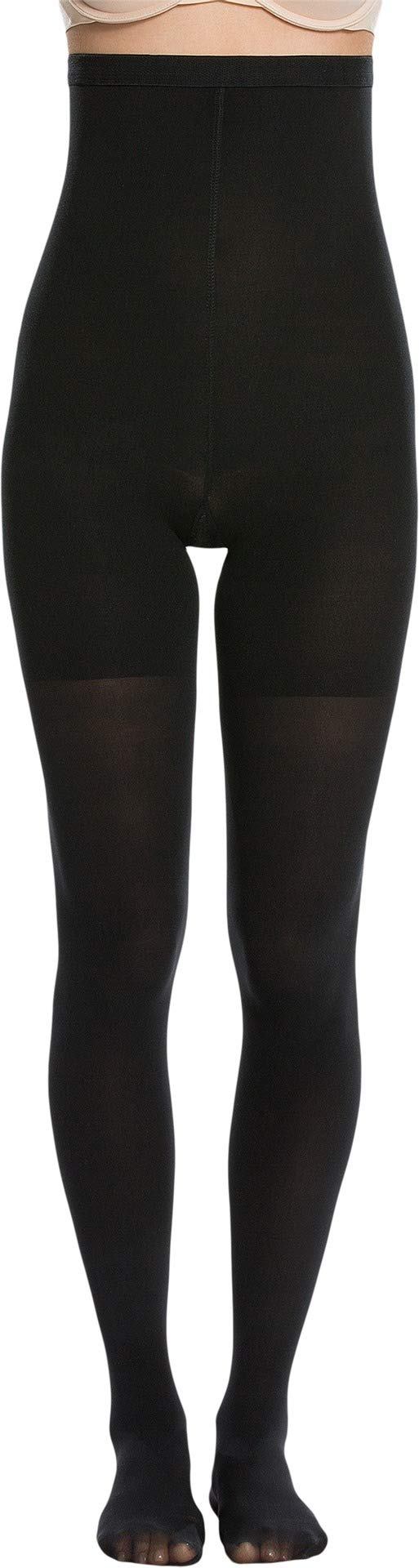 Spanx Women's High-Waisted tight-end tights Very Black E by SPANX