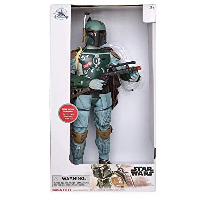 2020 - Boba Fett Talking Action Figure – 13 1/2'' – Star Wars: Toys & Games