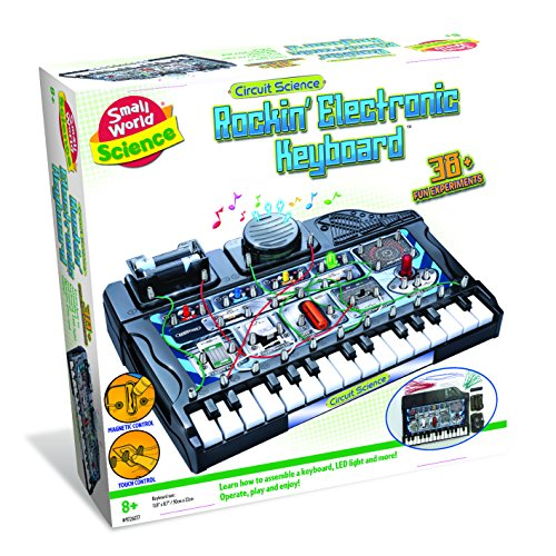 Rockin' Electronic Keyboard by Small World Science