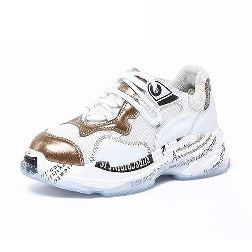 7477984237b12 U-MAC Womens Hidden Heel Wedges Sneakers Lightweight Breathable ...