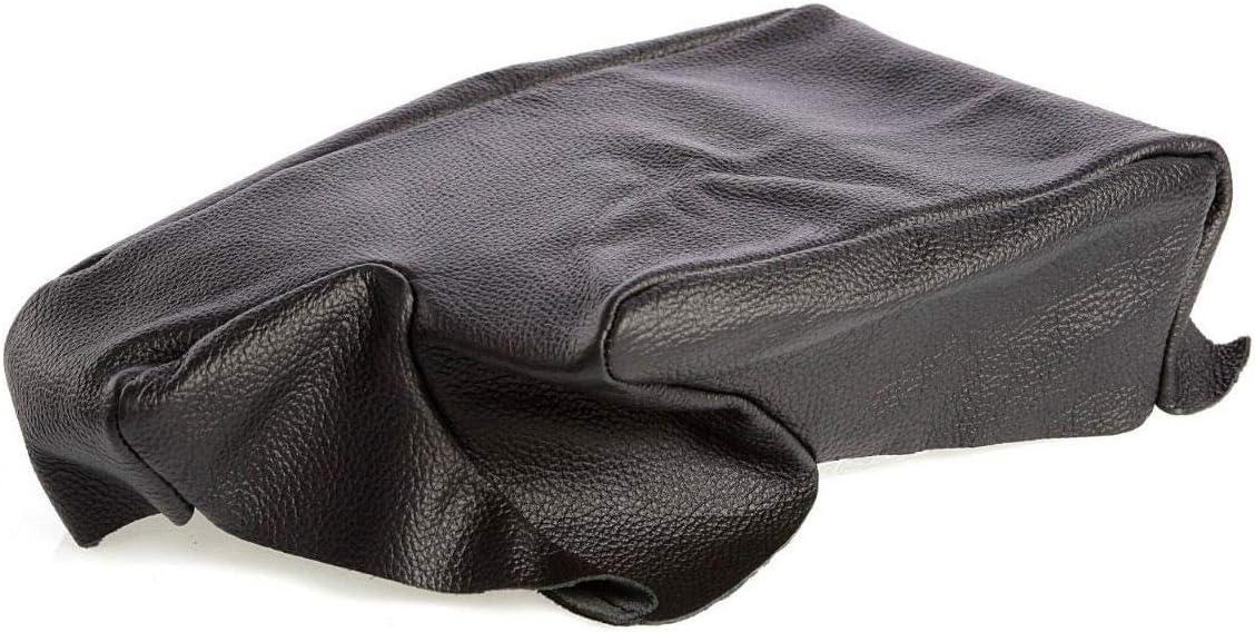 /Überzug Mittelarmlehne Armlehne 3er E36 Farbe Schwarz Echt Leder myshopx AL03