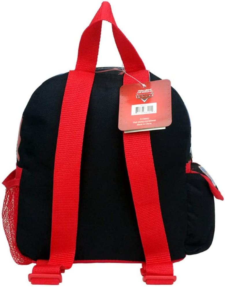10 Disney Planes Black Backpack with 3 Planes on the Front