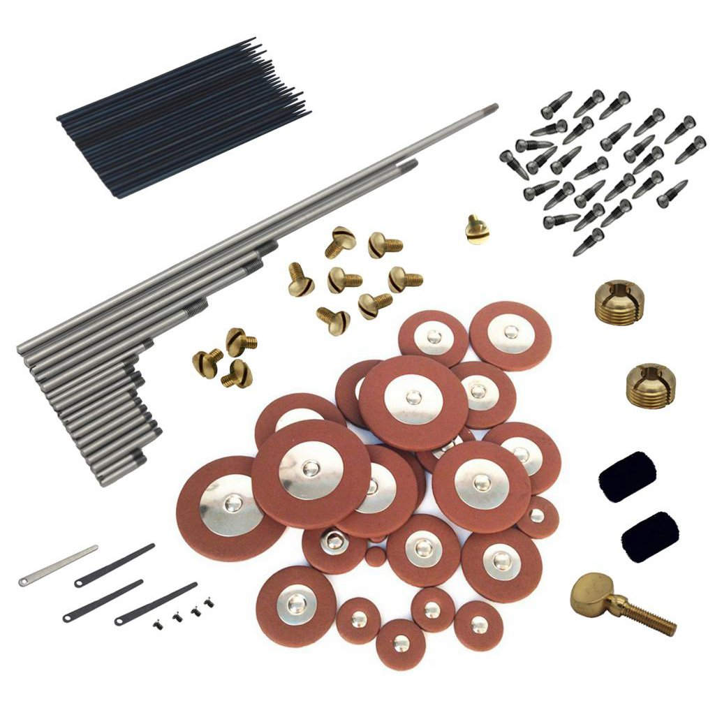 Dovewill Durable Alto Saxophone Maintenance Kit Set for Saxophonist Woodwind Instrument Repair Tools