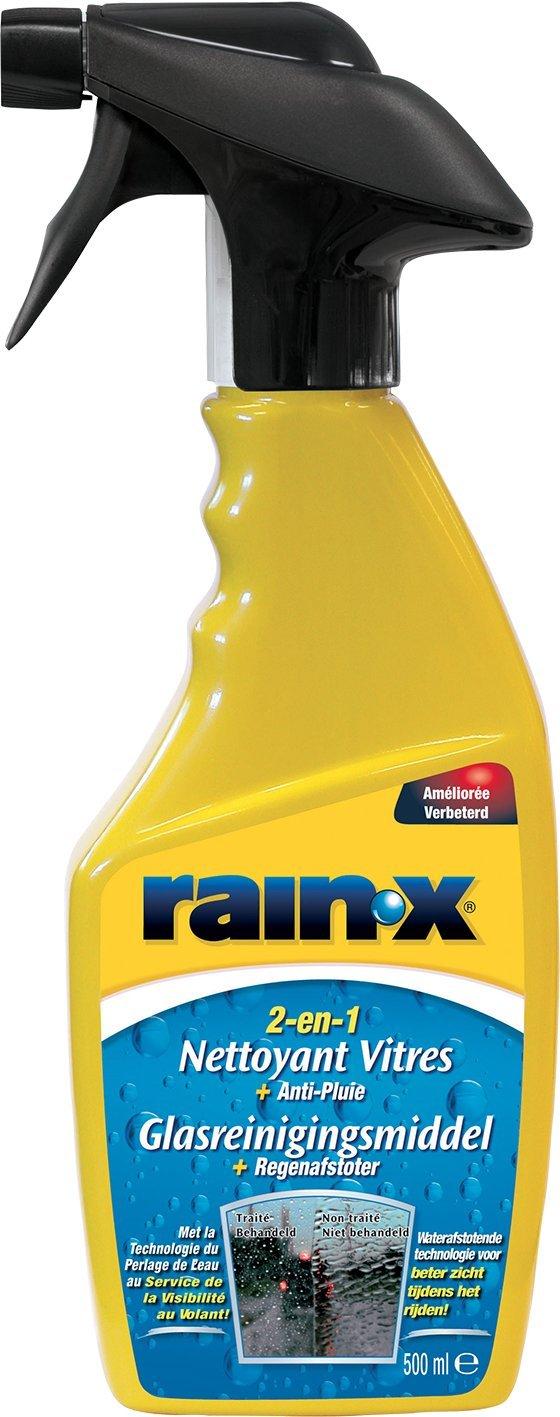Carpoint RainX 2en1 - Limpiacristales + Anti-Lluvia 500 ml: Amazon ...