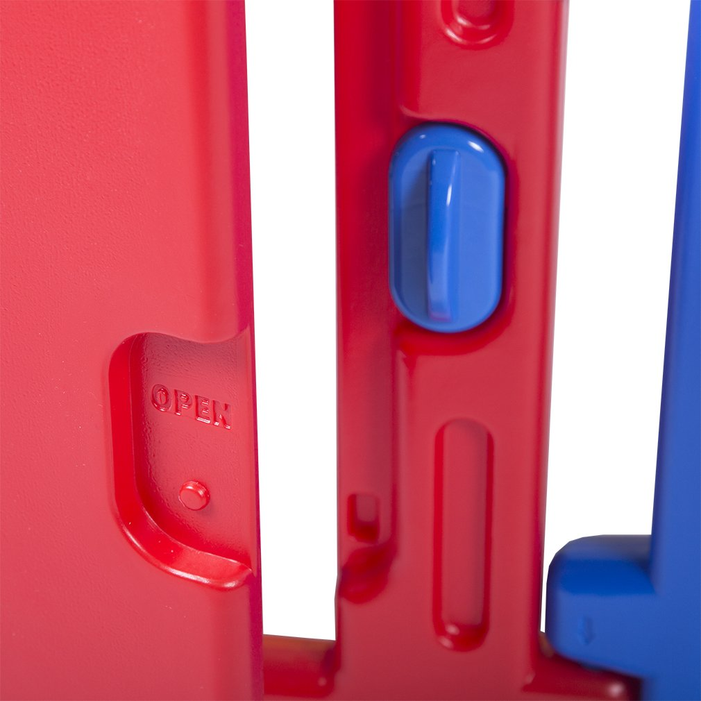 Baby Playpen PlaySafe Activity Center 10 Panel Adjustable Playard Kids w/Lock by FDW (Image #4)
