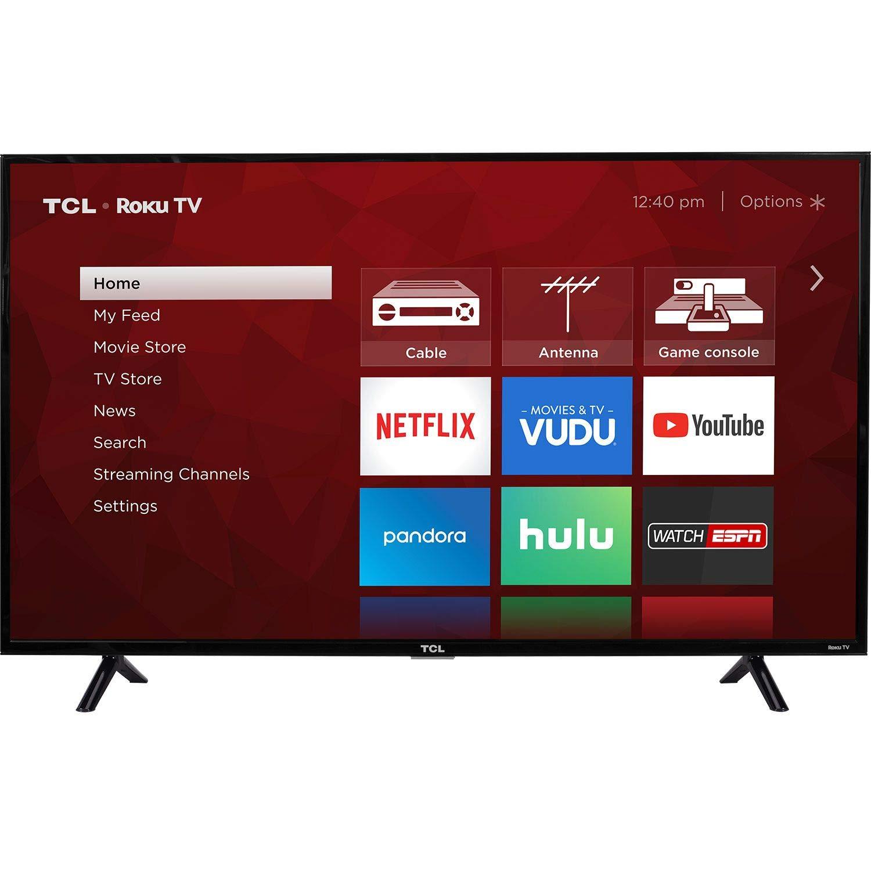 TCL 55 Class 55S403 (54.6 Diag.) 4K Ultra HD Roku LED LCD TV