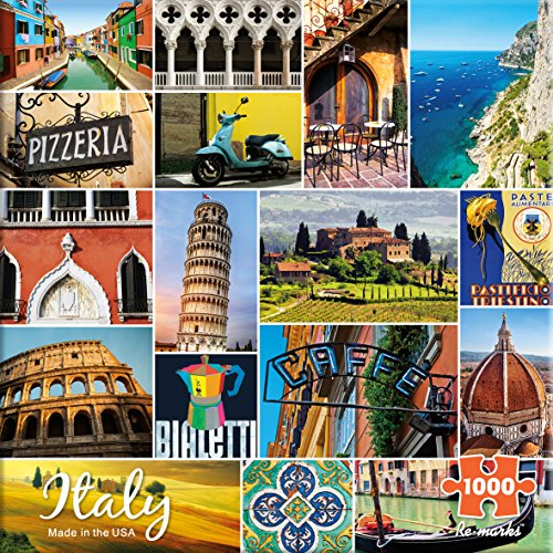 Re-Marks Italy 1000 Piece Puzzle