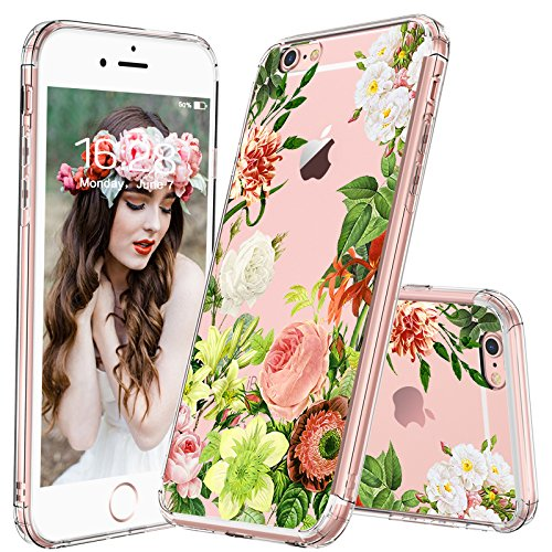 iPhone MOSNOVO Floral Plastic Protective