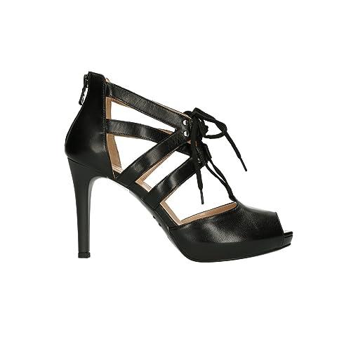 NERO GIARDINI spuntata D collet spuntata GIARDINI nero 5430 scarpe donna elegante mod   623ba9