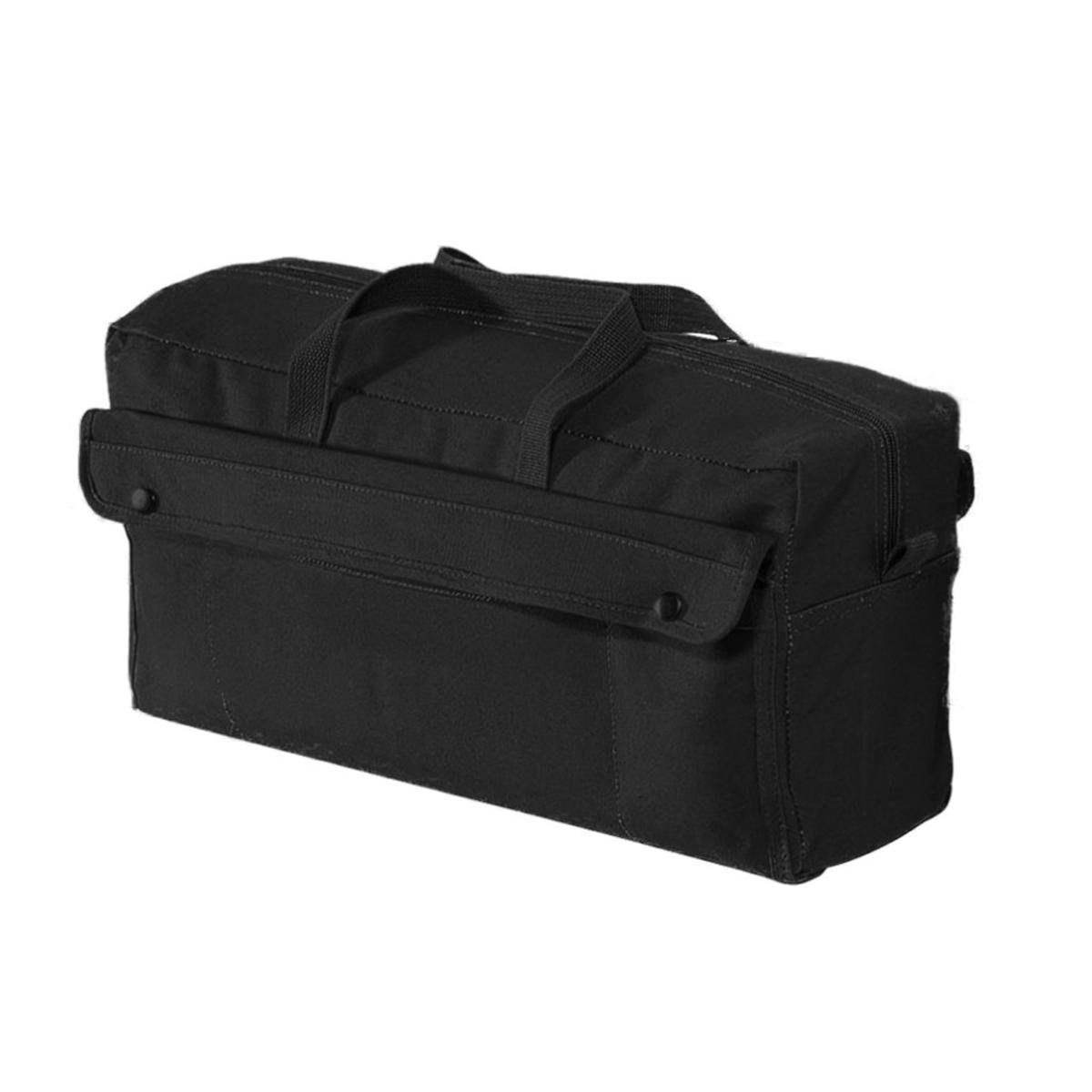 Rothco Canvas Jumbo Mechanic Tool Bag, Black