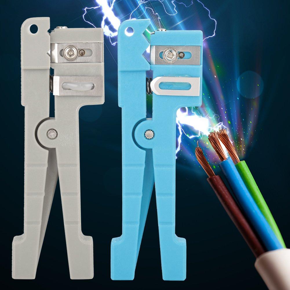 D/écapant optique de fibre outil l/éger de coupeur de d/énudage de c/âble coaxial de d/écapant de veste optique de fibre pour le c/âble coaxial torsad/é par c/âble coaxial de 0-1//81//8-7//32 #3