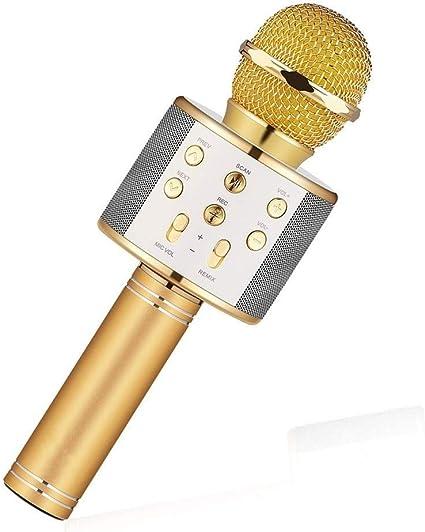 Mikrofon Handheld Bluetooth Wireless Karaoke Microphone Phone ...