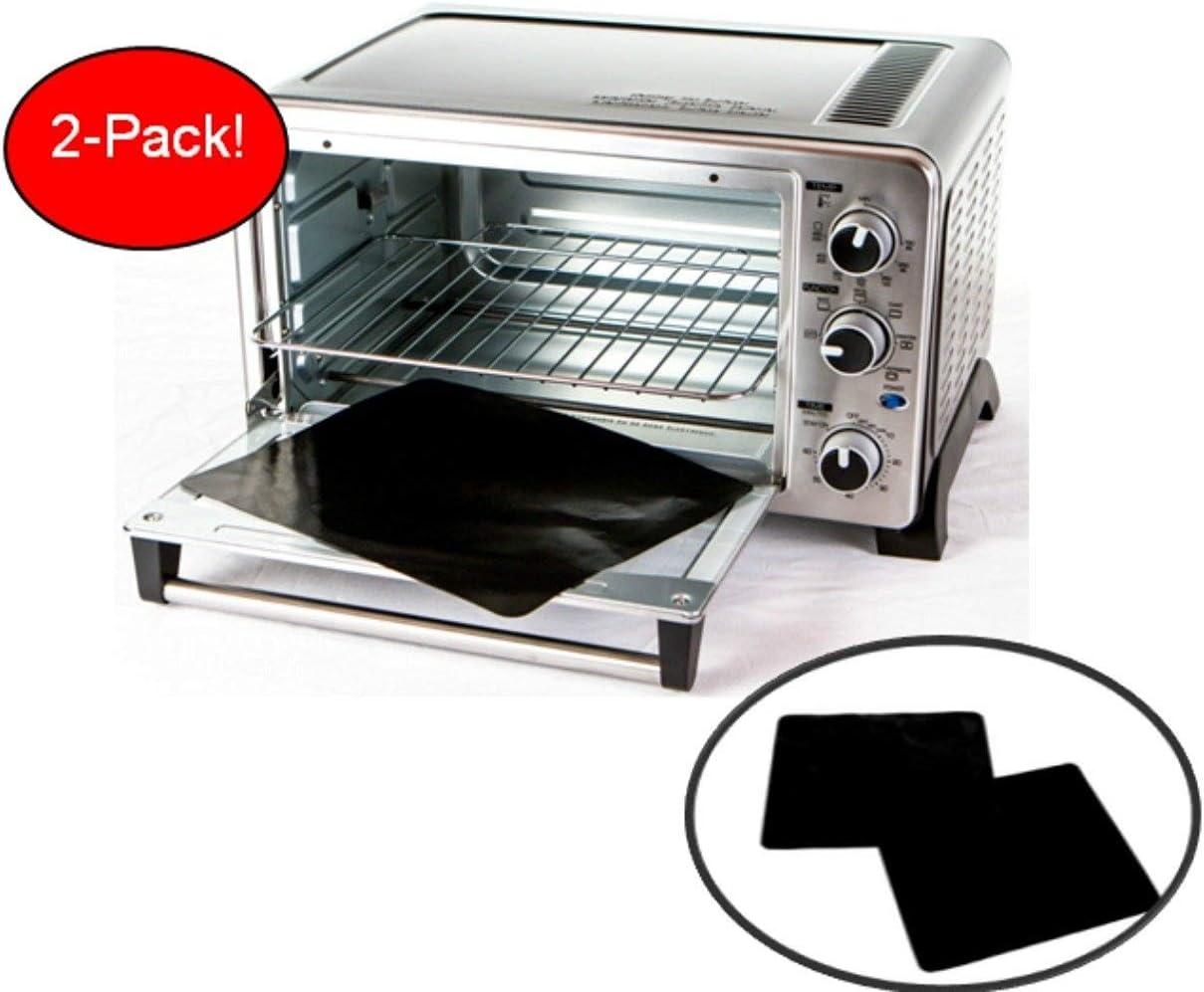 Amazon.com: Paquete de dos moldes antiadherentes para horno ...