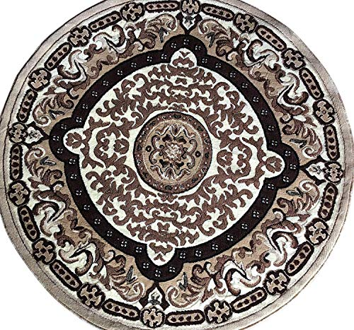 Amazon Com Americana Traditional Persian Oriental Round