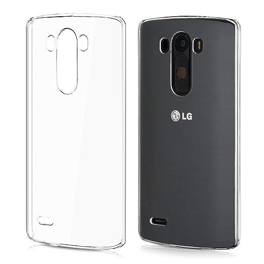 44 opinioni per kwmobile Cover per LG G3- Custodia trasparente per cellulare- Back cover