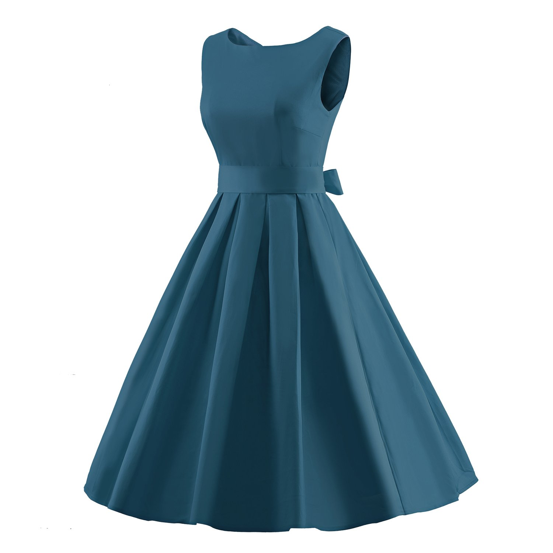 Amazon.com: iLover Women\'s 1950s Style Rockabilly Swing Vintage ...