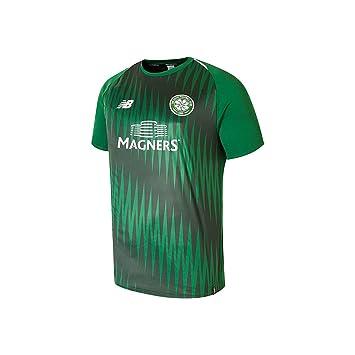 New Balance Celtic FC Men s Elite Match Day Training Jersey  Amazon ... 09cb2fa7f