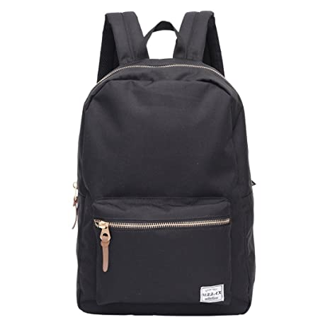 a69034089f Classical School Bag - OSZZAK Unisex Basic Daily Waterproof Rucksack  Backpack for Student Children Travel Teenager Laptop Casual (10610