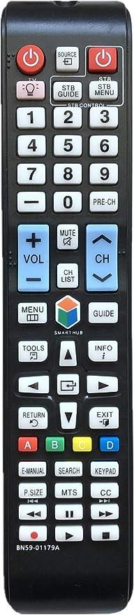 USBRMT - Mando a Distancia para televisor Samsung BN59-01179A con Botones retroiluminados: Amazon.es: Electrónica