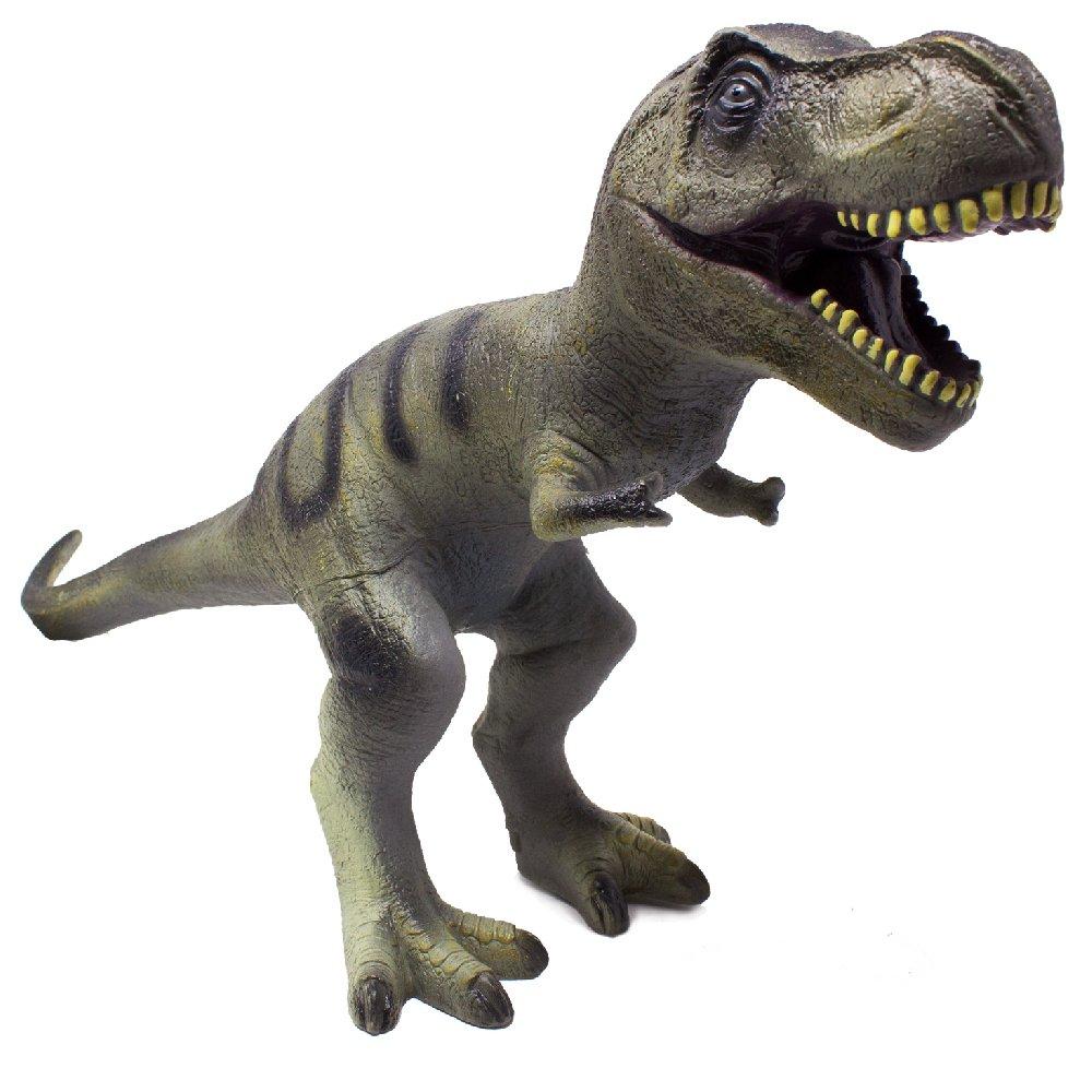 Boley JUMBO MONSTER 22'' Soft Jurassic T-Rex Dinosaur Toy - Educational Dinosaur Action Figure - Designed for Rough Play