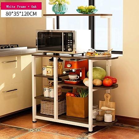 Estante de almacenamiento de cocina de 3 niveles Estante de ...