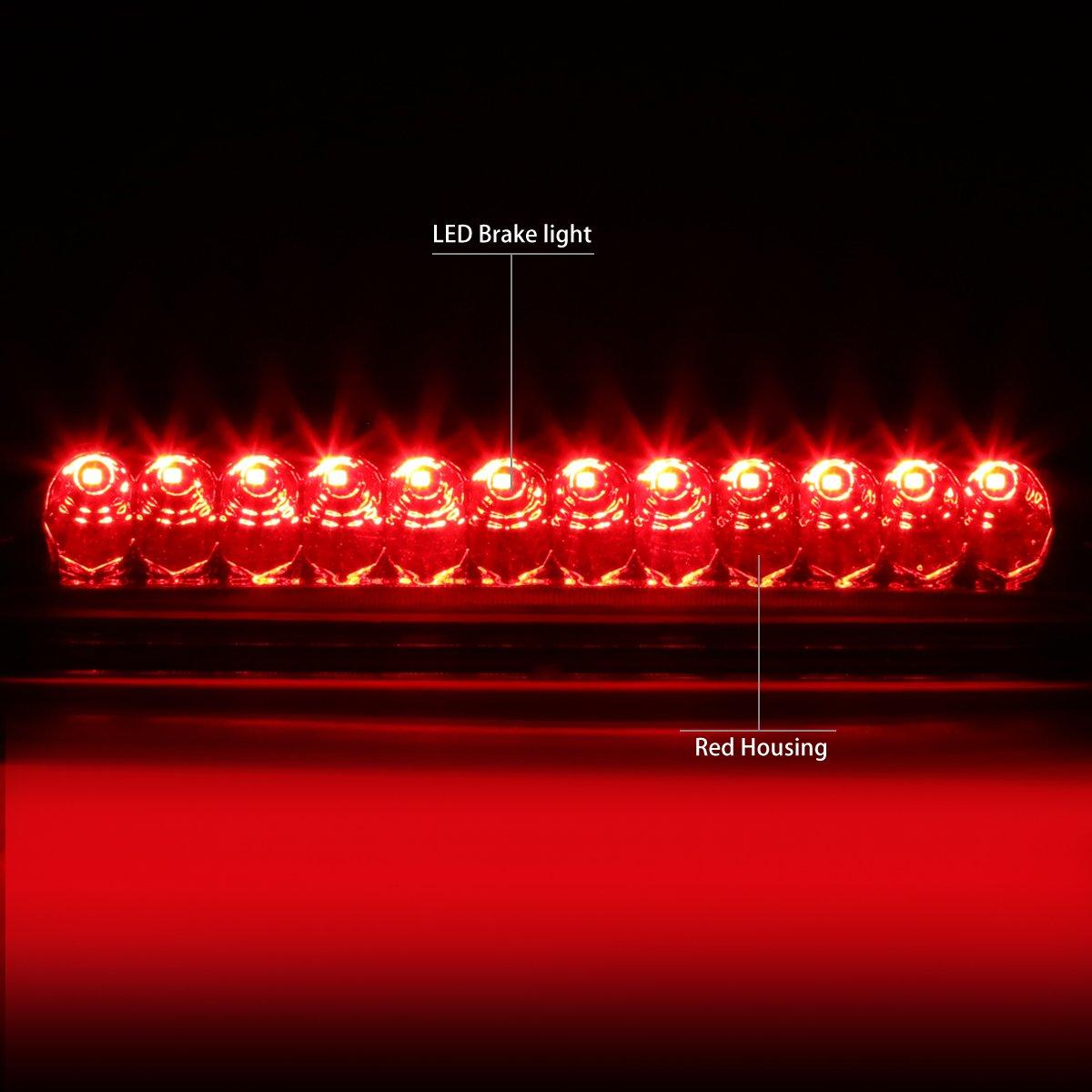 DNA MOTORING 3BL-FE98-LED-RD LED Third Brake Light