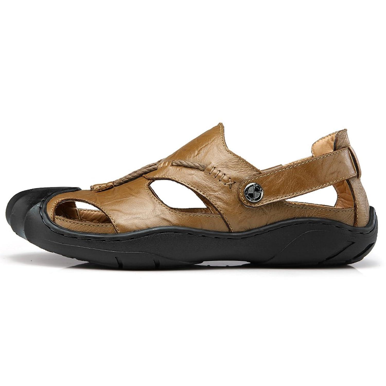 Gomnear Pour des hommes Des sandales Cuir Fermé Teo Glisser sur Été Sandale  Pantoufle Chaussures Mode Plage Décontractée En marchant: Amazon.fr:  Chaussures ...