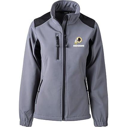 9d3ab7be Dunbrooke Apparel NFL Washington Redskins Women's Softshell Jacket, Medium,  Graphite