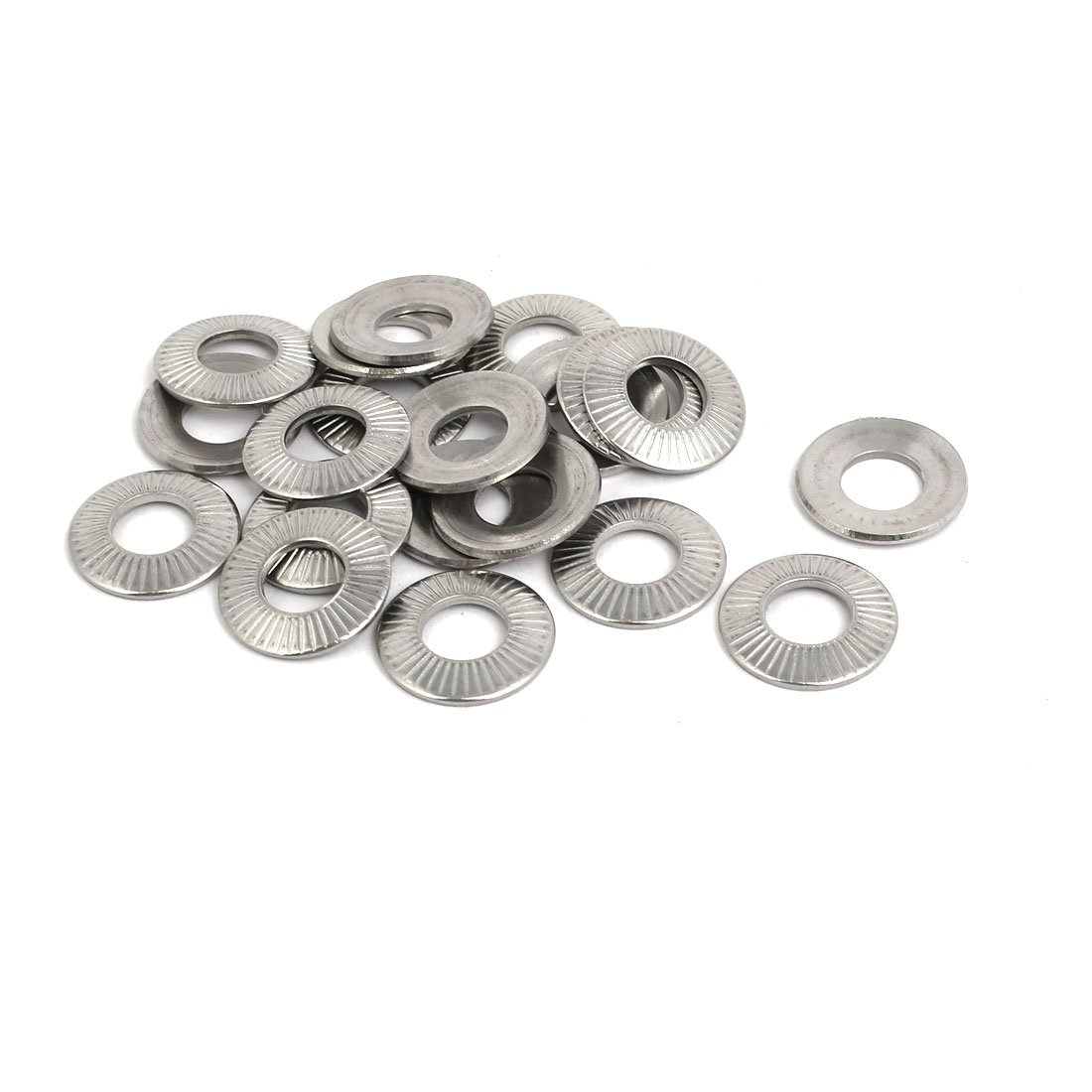 Wedge locking washer 254 SMO Stainless Steel M27 1 glued pairs//pack