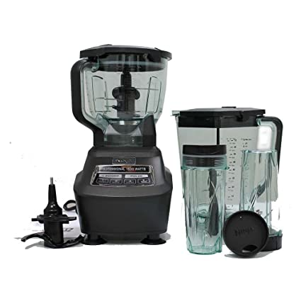 amazon com ninja mega kitchen system blender food processor mixer rh amazon com ninja bl770 mega kitchen system 1500 blender & food processor Ninja Ultra Kitchen System 1200