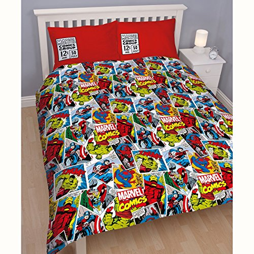 marvel duvet cover full - 4